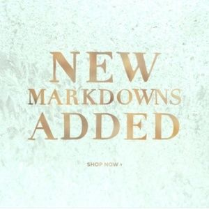Shop the new markdowns.